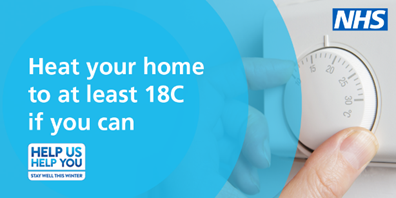 Heat your home to at least 10 degrees if you can