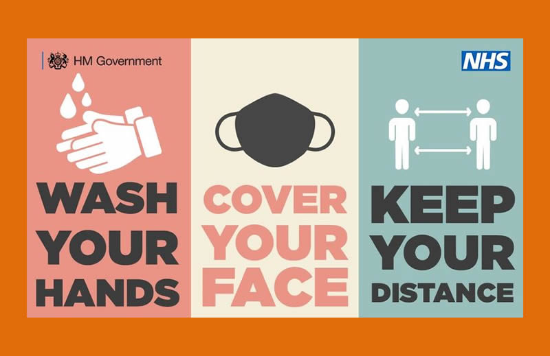 Wash your hands, cover your Face, keep your distance