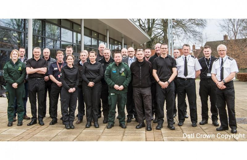 Dstl brings together first responders and security staff to stage major exercise