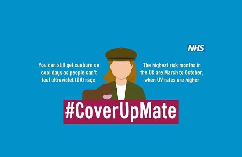 NHS warns sun seeking South West workers to Cover Up, Mate!