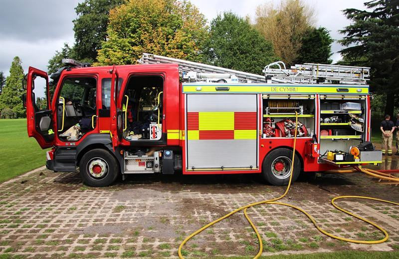 Recruiting for Trowbridge Fire Cadets programme